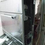 食洗器の洗剤入れ部分から水を手作業で給水(裏技?)