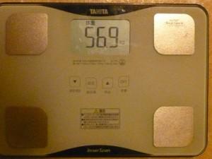 20日目体重