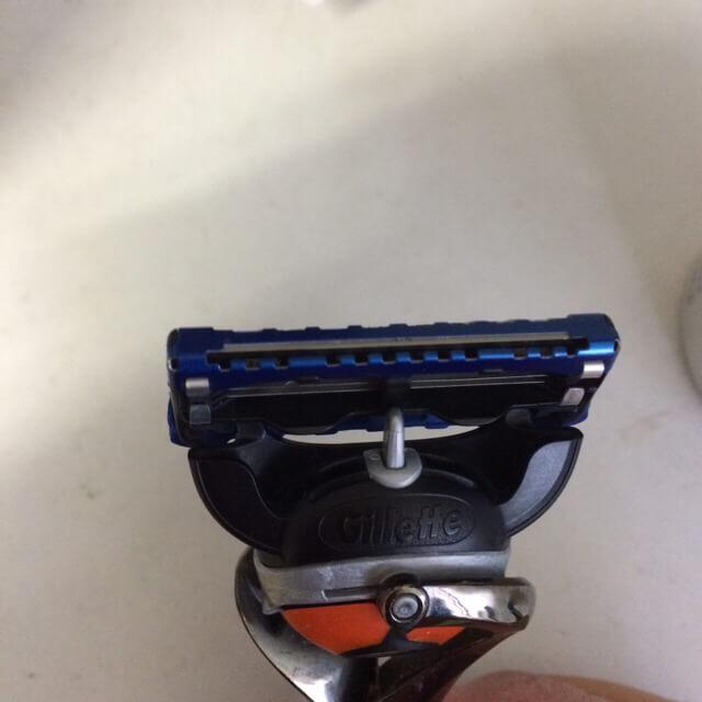 ジレット5+1の刃
