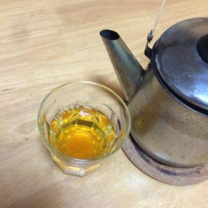碁石茶完成