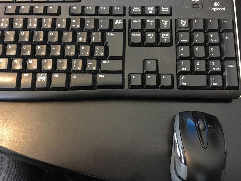 ロジクールのマウスとキーボード